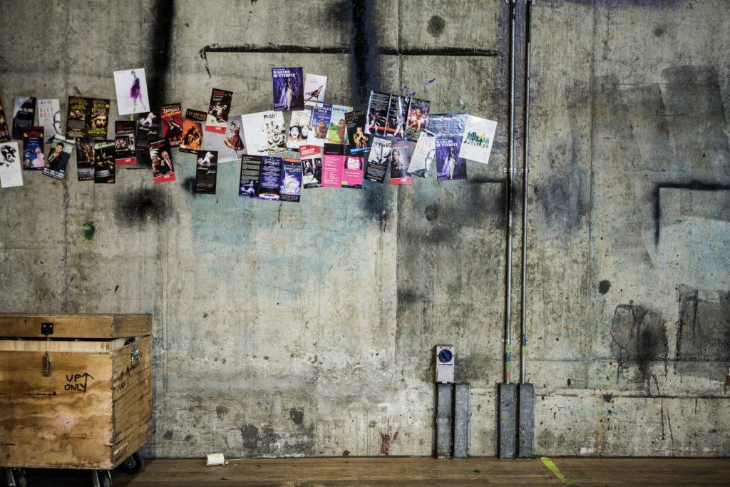 Close up of backstage Arts Centre Melbourne