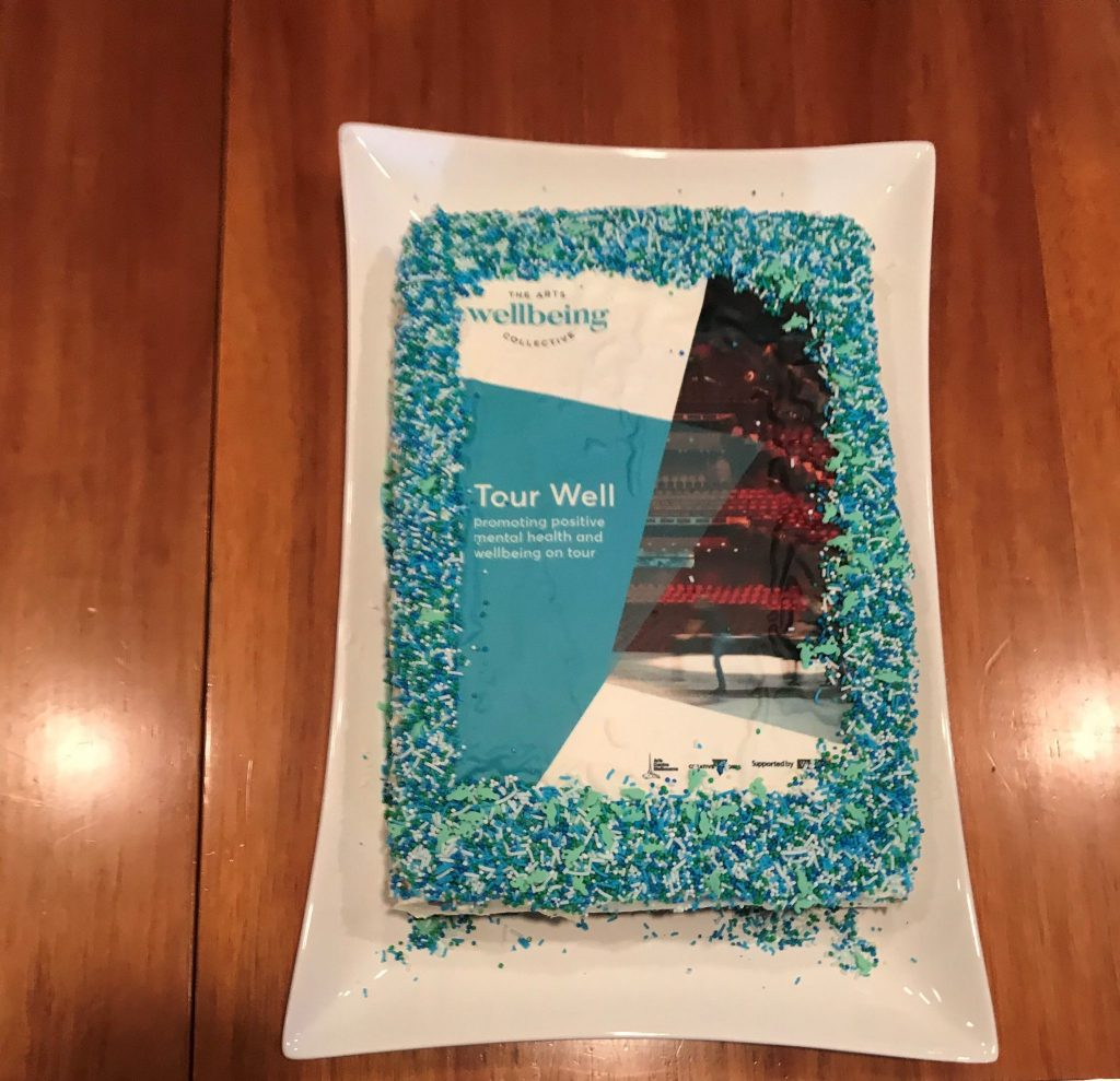 Tour Well cake